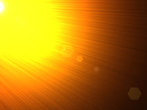 solljus Royaltyfria Foton