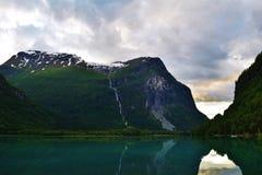 solljus för område för sammansättningsberg naturligt Royaltyfri Fotografi