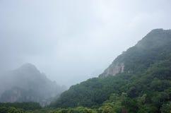 solljus för område för sammansättningsberg naturligt Arkivbilder