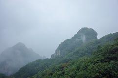 solljus för område för sammansättningsberg naturligt Royaltyfria Bilder