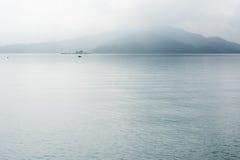 Solmåne sjö Arkivbild