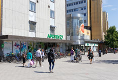Solna centre shopping mall Royalty Free Stock Photography