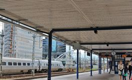 Solna station in Stockholm Royalty Free Stock Photography