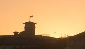 Solnedgång över Bondi Royaltyfri Bild