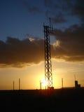 solnedgång 012 Arkivfoto