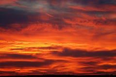 solnedgång 03 Arkivbild