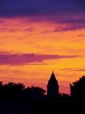 solnedgång Royaltyfri Fotografi