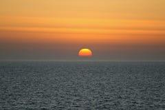 solnedgång Arkivbild