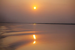 solnedgång 2 Royaltyfri Fotografi