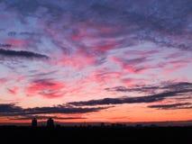 solnedgång 6 Royaltyfri Fotografi