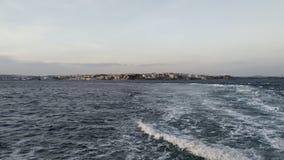 Solnedgång Dardanelles royaltyfri bild