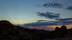 solnedgång för ökendubai dyner lager videofilmer