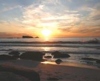 solnedgång för 2 clifton Arkivfoto