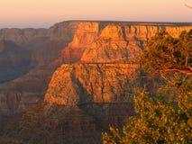 solnedgång för 2 grandview Royaltyfria Foton