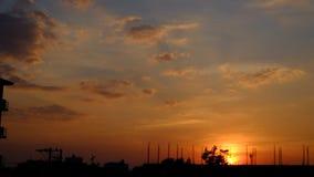Solnedgång för bra afton Royaltyfria Foton