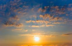 solnedgång för flaggadatalistnational Royaltyfri Bild