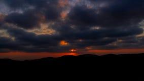 Solnedgång från Arthur Rubinstein Memorial Royaltyfri Fotografi