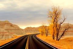 Badlands South Dakota, USA royaltyfria bilder