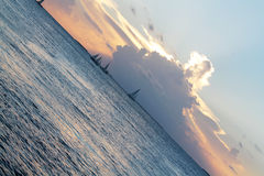 Solnedgång i Key West Fotografering för Bildbyråer