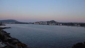 Solnedgång i Majorca Arkivfoto