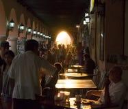 Solnedgång i Merida Fotografering för Bildbyråer