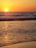Solnedgång i Oregon Royaltyfri Foto