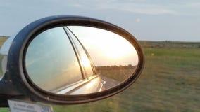 Solnedgång i söderna av Gotland royaltyfria foton