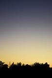 Solnedgång II royaltyfri bild