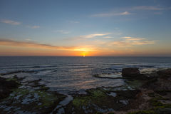 Solnedgång nära Melbourne, Australien Royaltyfri Bild