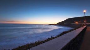 Solnedgång på Baja, Mexico Royaltyfria Foton