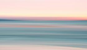 Solnedgång på den Duxbury fjärden Royaltyfri Fotografi