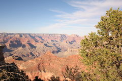 Solnedgång på Grand Canyon Fotografering för Bildbyråer