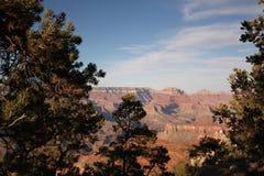 Solnedgång på Grand Canyon Royaltyfri Fotografi