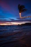 Solnedgång på Ko Tao Arkivbilder