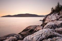 Solnedgång på punkt Atkinson Royaltyfria Foton