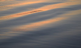 Solnedgång på shoreline i Laguna Beach, Kalifornien Royaltyfri Fotografi