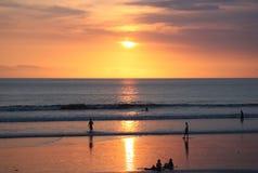 solnedgång thailand Royaltyfri Fotografi