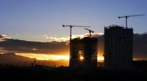 solnedgång vegas Arkivfoton