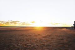 solnedgång venice Arkivfoto