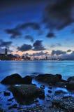 solnedgång victoria Royaltyfria Bilder