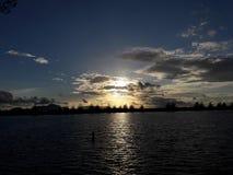 solnedgångar i Banda Aceh Fotografering för Bildbyråer