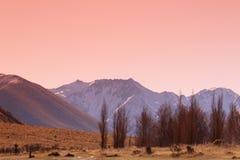Solnedgångblick Arkivfoto
