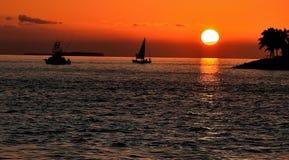 Solnedgångdrömmar 4 Arkivbilder