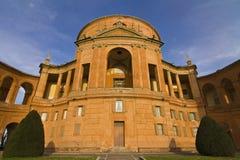 Bologna: San Luca fristad på solnedgången Royaltyfria Foton