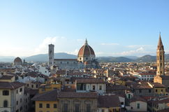 Santa Maria del Fiore Duomo - Florence - Italien Arkivbilder