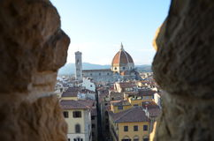 Santa Maria del Fiore Duomo - Florence - Italien Royaltyfri Bild
