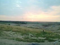 Solnedgången färgar Royaltyfri Bild