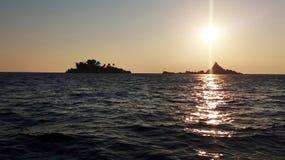 Solnedgångkyfhen royaltyfria foton
