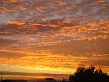 Solnedgångparadis Royaltyfri Bild