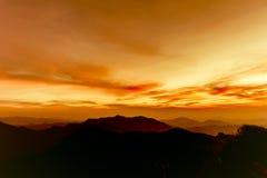 Solnedgångparadis Royaltyfri Foto